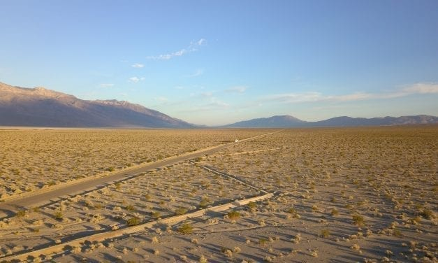 Road to Death Valley National Park