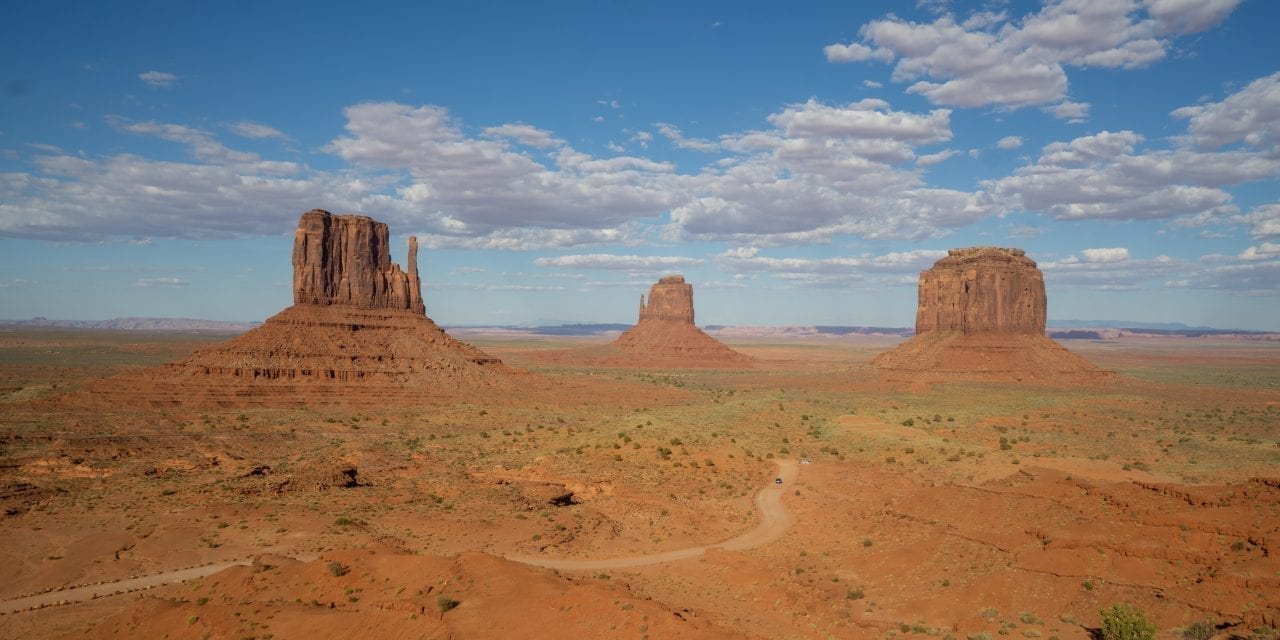 Exploring Rock Formations in Monument Valley, Utah