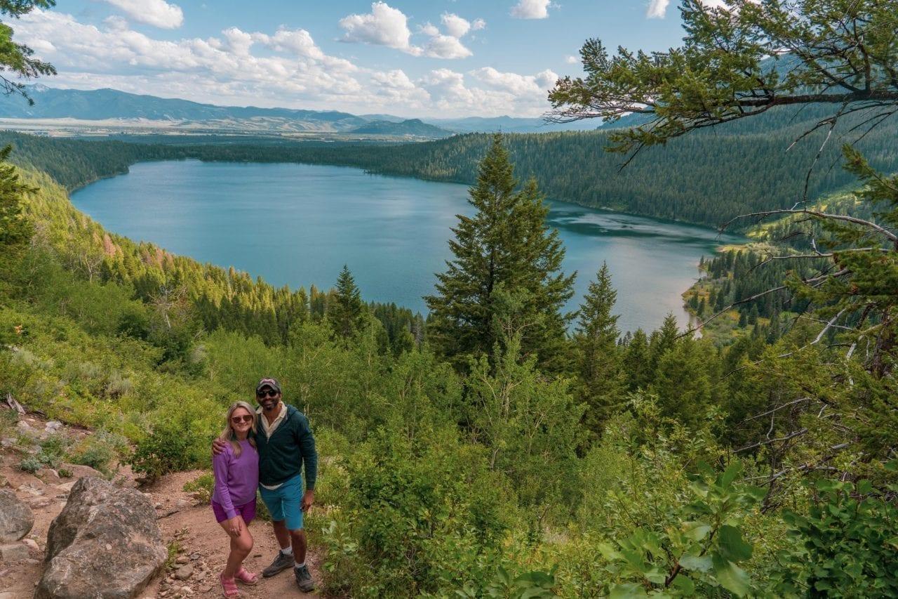 Phelps Lake Overlook, Grand Teton National Park