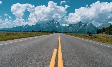 Scenic Drive Around Grand Teton National Park, Wyoming