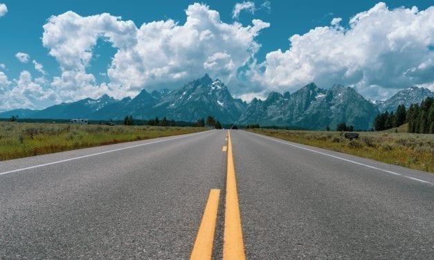 Scenic Drive Around Grand Teton National Park, Wyoming