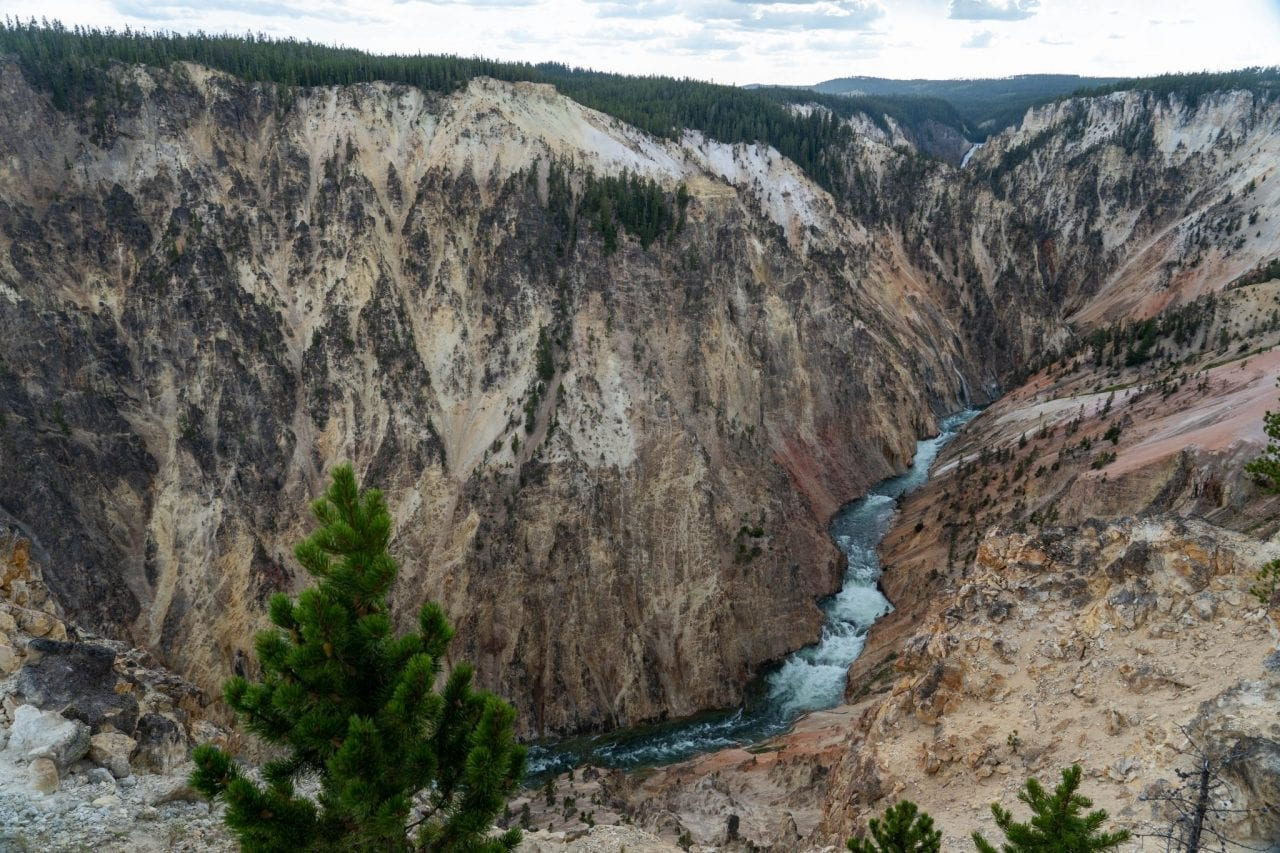 Inspiration Point, Grand Canyon of Yellowstone