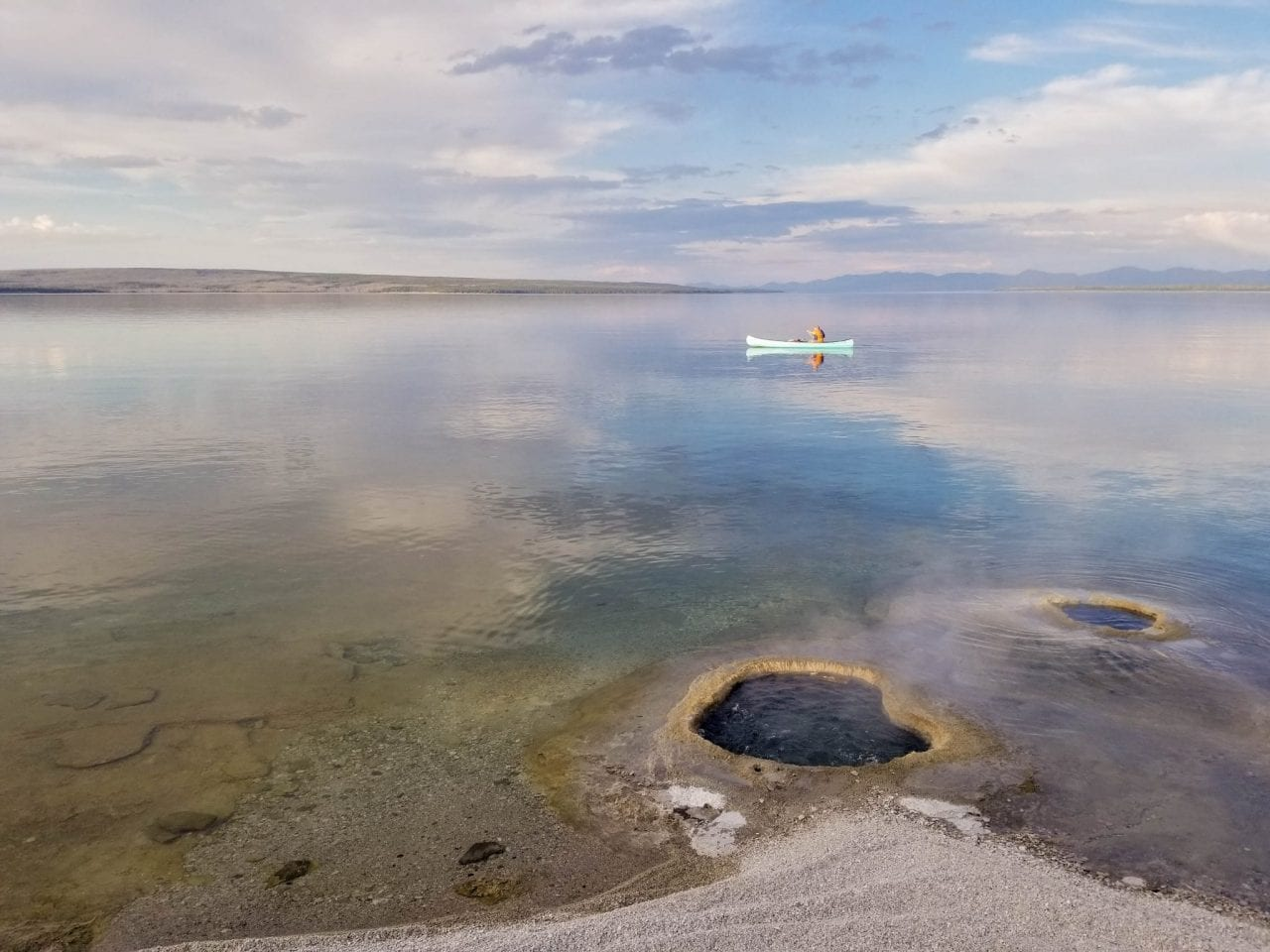 Lakeshore Geyser in West Thumb